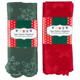 36 Units of Napkin Cloth Christmas - Christmas Novelties
