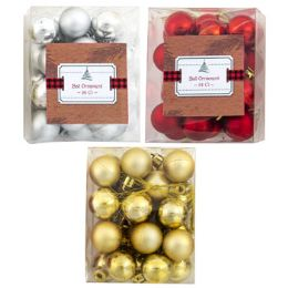 144 Units of Ornament Ball - Christmas Ornament