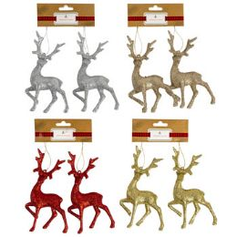 48 Units of Ornament Reindeer - Christmas Ornament