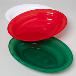 48 Units of Serving Platter Oval Christmas - Christmas Novelties