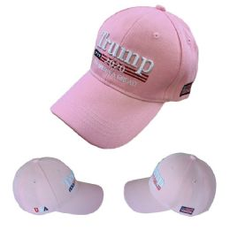 24 Units of Trump 2020 Hat Keep America Great [Pink Only] - Baseball Caps & Snap Backs