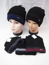 36 Units of Mens Winter Beanie Hat Warm Cuff Toboggan Knit Ski Skull Cap - Winter Beanie Hats