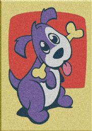 60 Units of Mini Dog Sand Painting Card - Arts & Crafts
