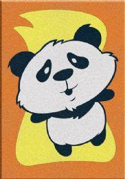 60 Units of Mini Panda Sand Painting Card - Arts & Crafts