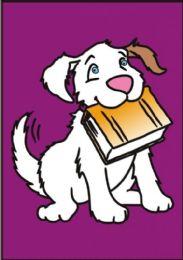 50 Units of Medium Puffy Dog Sand Painting Card - Arts & Crafts