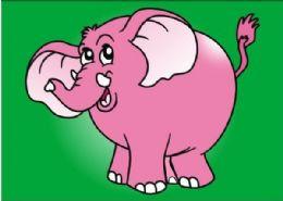 50 Units of Medium Elephant Sand Painting Card - Arts & Crafts
