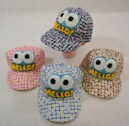 36 Units of Toddler Ball Cap [HELLO] - Baseball Caps & Snap Backs
