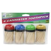 48 Units of Toothpicks 4 Canisters - Toothpicks