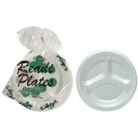 18 Units of Readi Compartment Plate - Disposable Plates & Bowls