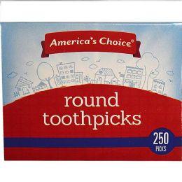 24 Units of Toothpick Round 250 Picks - Toothpicks