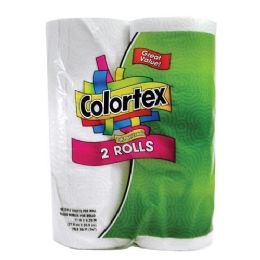 20 Units of Colortex Paper Towels 2 Pack 60 Sheet 2 Ply - Napkin and Paper Towel Holders