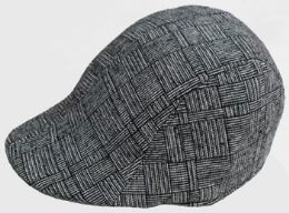 36 Units of Men's Plaid Ivy Cap - Fedoras, Driver Caps & Visor