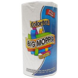 24 Units of Colortex Big Mopper 2 Ply Paper Towel 100 Sheets - Napkin and Paper Towel Holders