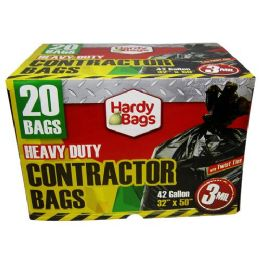 6 Units of 42 Gallon Heavy Duty Contractor Bag - Garbage & Storage Bags