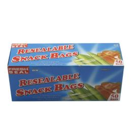 24 Units of 8 PIECE RESEAL 2 GALLON FREEZER BAGS - Food Storage Containers