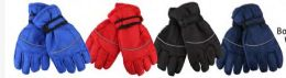 72 Units of Boys Water Proof Ski Glove - Ski Gloves