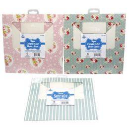 48 Units of 3 PIECE CUPCAKE BOX SET - Baking Supplies