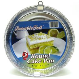 12 Units of Round Cake Pan - Aluminum Pans