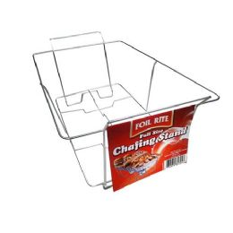 36 Units of FULL SIZE CHAFING STAND - Aluminum Pans