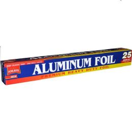 24 Units of Aluminum Foil 25 Square Feet - Food Storage Containers