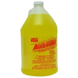 4 Units of Awesome Degreaser Cleaner Refill 128 Ounce - Cleaning Supplies