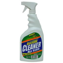 12 Units of Awesome Cleaner With Bleach 32 Ounce - Cleaning Supplies