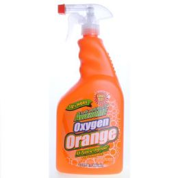 12 Units of Awesome Oxygen Orange All Purpose Degreaser Trigger 32 Ounce - Cleaning Supplies