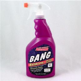 12 Units of Awesome Bang Bath And Shower Cleaner Trigger 32 Ounce - Cleaning Supplies