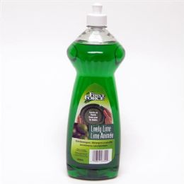 12 Units of First Force Green Dish Liquid 32 Ounce - Cleaning Supplies