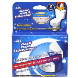 12 Units of 2 Piece Automatic Toilet Bowl Disc - Cleaning Supplies