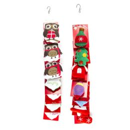 48 Units of Cat Toy Christmas Merch Strip 4 Styles Per Strip 4 Strips Per Case - Pet Toys