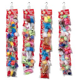 48 Units of Cat Toy Merch Strip F Assortment 6 Styles Per Strip 4 Strips Per Case - Pet Toys