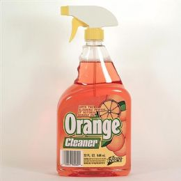 12 Units of Multi Purpose Orange Cleaner Trigger 32 Ounce - Cleaning Supplies