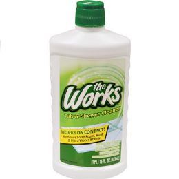 6 Units of The Works Tub And Shower Cleaner 16 Ounce - Cleaning Supplies