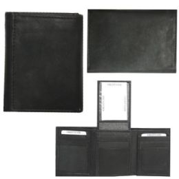 12 Units of Men's Leather Wallet - Leather Wallets