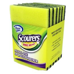 48 Units of Multi Use Sponge Scourer - Scouring Pads & Sponges
