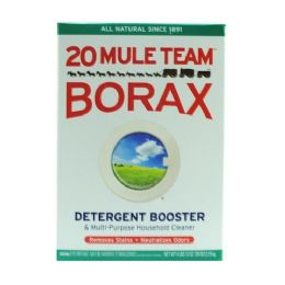 4 Units of 20 Mule Team Borax Detergent Booster Tall 76 Ounces - Laundry Detergent