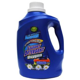 4 Units of Awesome Oxygen Laundry Detergent 64 Loads 100 Ounces - Laundry Detergent