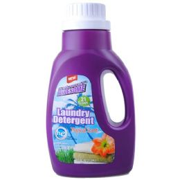 240 Units of Awesome Ultra Liquid Laundry Detergent HE Tropical 42 Ounces - Laundry Detergent