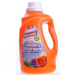 8 Units of Awesome Laundry Detergent Stain Lifter 32 Loads 64 Ounces - Laundry Detergent