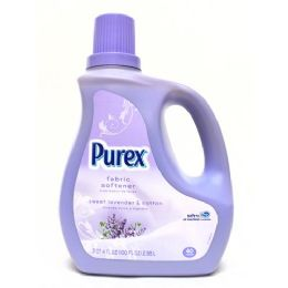 4 Units of Purex He Liquid Fabric Softener Sweet Lavender And Cotton 100 Ounces - Laundry Detergent