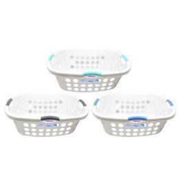 12 Units of 2 BUSHEL LAUNDRY BASKET - Laundry Baskets & Hampers