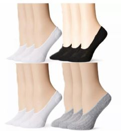 300 Units of Yacht & Smith Women's No-Show Loafer Sock Mixed Assorted Colors - Womens Ankle Sock