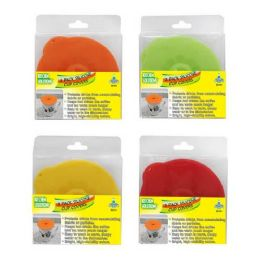 24 Units of 2 PIECE SILICONE CUP COVERS - Kitchen Gadgets & Tools