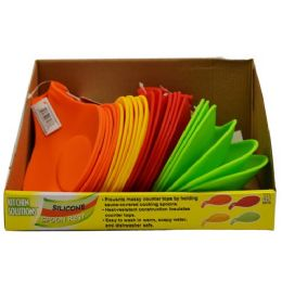 24 Units of Silicone Spoon Rest - Kitchen Gadgets & Tools