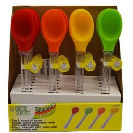 24 Units of SILICONE SPOON - Kitchen Gadgets & Tools