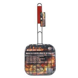 12 Units of Bbq Hamburger Basket - BBQ supplies