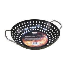 12 Units of ROUND BBQ GRILL PAN - BBQ supplies