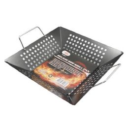 12 Units of SQUARE BBQ GRILL PAN - BBQ supplies