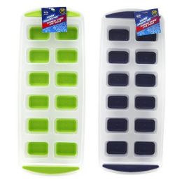 12 Units of JUMBO CUBE SILICONE ICE TRAY - Kitchen Gadgets & Tools